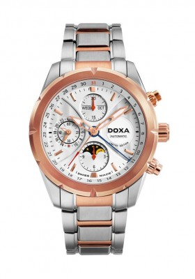 poza Doxa Trofeo Limited Steel Gold