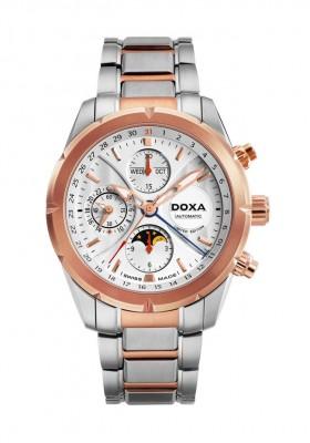 poza ceas Doxa Trofeo Limited Steel Gold