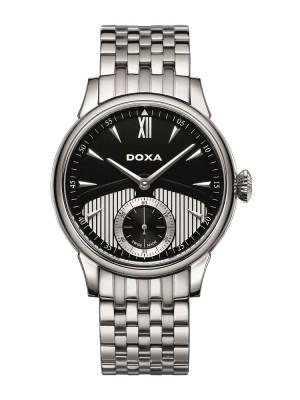 poza ceas Doxa Vintage Mecanic Steel Black