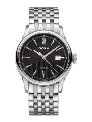 poza ceas Doxa Vintage Steel Black 2