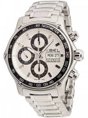 poza Ebel 1911 Discovery Chronograph Steel