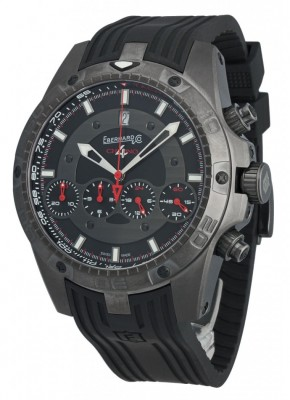 poza ceas Eberhard Chrono 4 Geant Full Injection Black