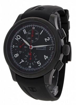 poza Eberhard Traversetolo Noir Limited Edition Chronograph Date 31053.1 CU