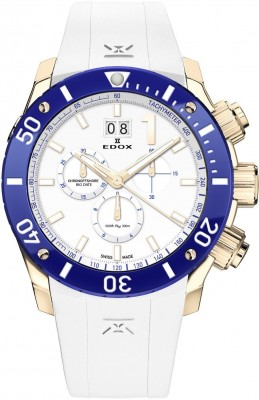 poza ceas Edox Chronoffshore 1 Chronograph Big Date Limited Edition