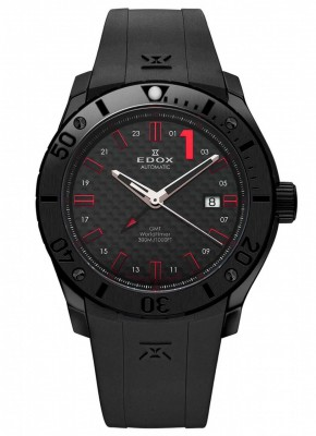 poza ceas Edox Chronoffshore 1 Worldtimer GMT Automatic 3