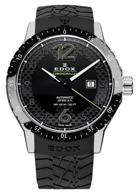 poza Edox Chronorally 1 Automatic Date 80094 3N NV
