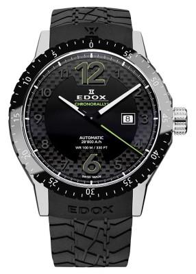poza Edox Chronorally 1 Automatic Date 80094 3N NV