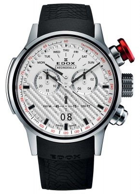 poza Edox Chronorally Big Date Chronograph 38001 TIN AIN