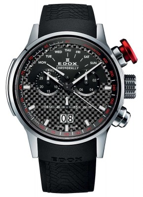poza Edox Chronorally Big Date Chronograph 38001 TIN NIN