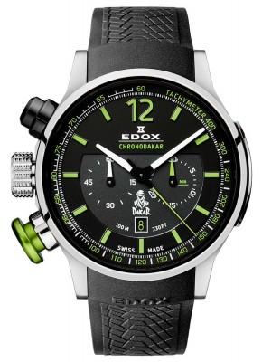 poza ceas Edox Chronorally Chronodakar Limited Edition 2015 10303 TIN NV