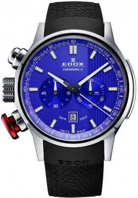 poza Edox Chronorally Chronograph 10302 3 BUIN