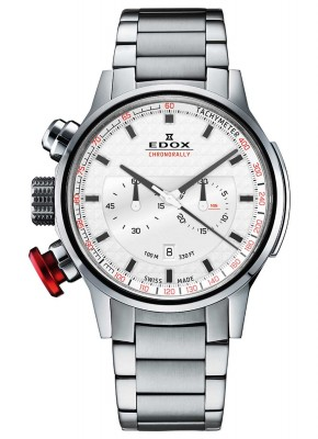 poza ceas Edox Chronorally Chronograph 10302 3M AIN