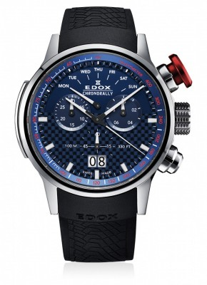 poza Edox Chronorally Chronograph Big Date 38001 TIN BUIN