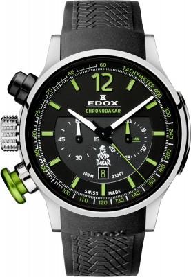 poza ceas Edox Chronorally Chronograph Dakar Limited Edition