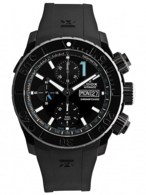 poza ceas Edox Class 1 Chronoffshore Limited Edition Diver 500m Day Date