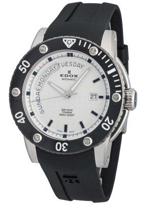 poza ceas Edox Class1 Day Date Automatic 83005 TIN AIN