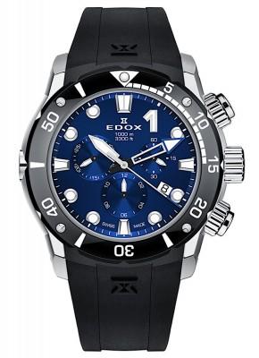 poza Edox CO1 Chronograph Date Quarz 10242 TIN BUIN