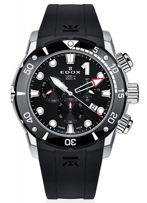 poza Edox CO1 Chronograph Date Quarz 10242 TIN NIN