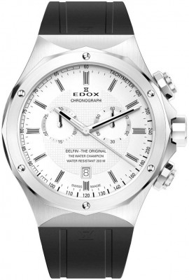 poza Edox Delfin Chronograph 10107 3CA AIN
