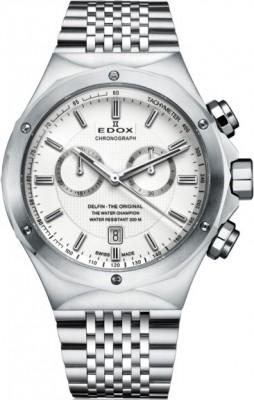 poza Edox Delfin Chronograph 10108 3 AIN