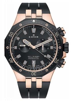 poza Edox Delfin Chronograph Date Quarz 10109 357RNCA NIRG