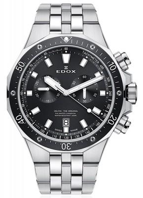 poza Edox Delfin Chronograph Date Quarz 10109 3M NIN