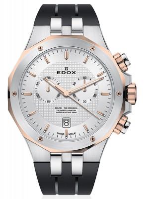 poza Edox Delfin Chronograph Date Quarz 10110 357RCA AIR
