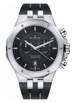 poza Edox Delfin Chronograph Date Quarz 10110 3CA NIN