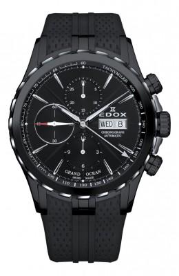 poza ceas Edox Grand Ocean Automatic Black 2