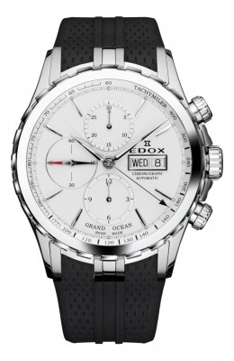 poza ceas Edox Grand Ocean Automatic Steel