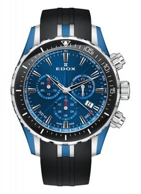 poza Edox Grand Ocean Chronograph Date Quarz 10248 357BU BUIN