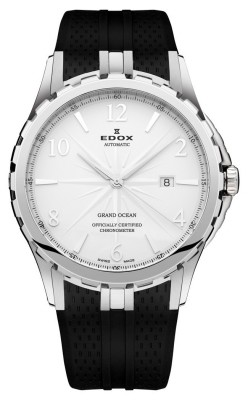poza ceas Edox Grand Ocean Chronometer Steel