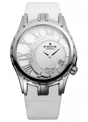 poza Edox Grand Ocean Datum Automatic Steel 2