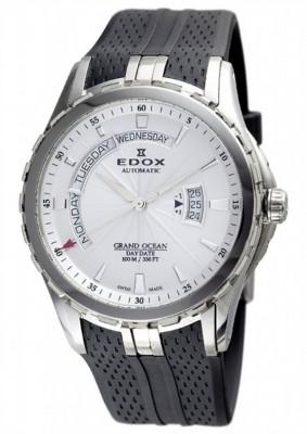 poza ceas Edox Grand Ocean DayDate Steel