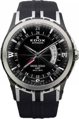 poza ceas Edox Grand Ocean GMT Automatic