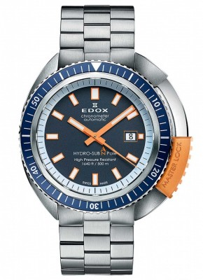poza Edox Hydro Sub Automatic Diver Limited Edition Chronometer