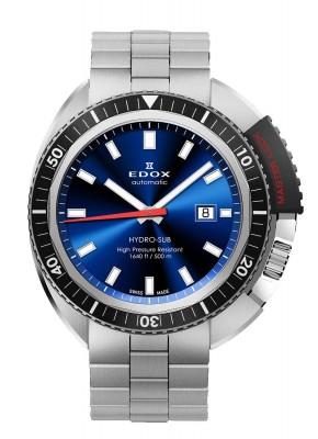 poza Edox HydroSub Automatic Diver Taucheruhr 80301 3NM BUIN
