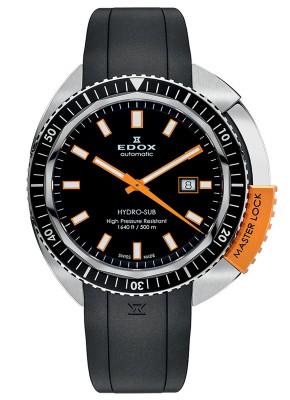 poza Edox HydroSub Automatic Diver Taucheruhr 80301 3NOCA NIN