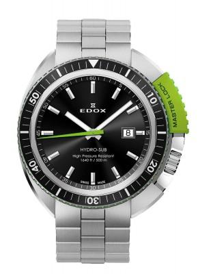 poza Edox HydroSub Diver Taucheruhr 53200 3NVM NIN