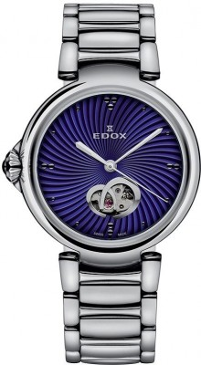 poza Edox LaPassion Open Heart Automatic 85025 3M BUIN