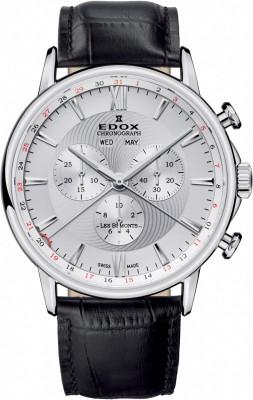 poza ceas Edox Les Bemonts Chronograph