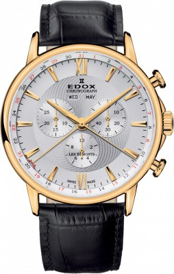 poza ceas Edox Les Bemonts Chronograph 3