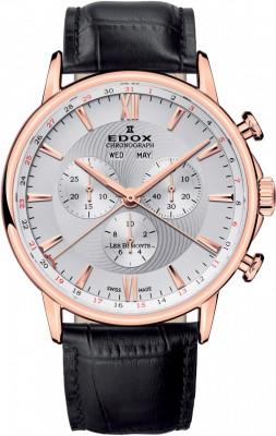 poza ceas Edox Les Bemonts Chronograph 4