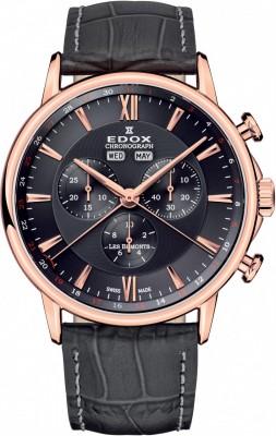 poza ceas Edox Les Bemonts Chronograph 5