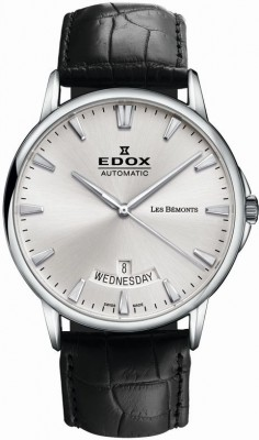 poza Edox Les Bemonts Day Date Automatic 2
