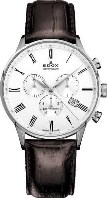 poza ceas Edox Les Vauberts Chronograph