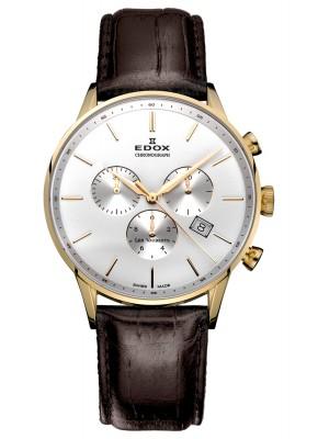 poza ceas Edox Les Vauberts Chronograph 10408 37JA AID