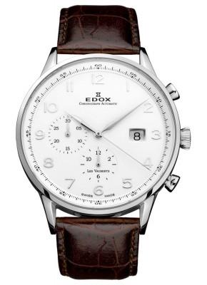 poza ceas Edox Les Vauberts Chronograph Automatic 91001 3 ABN