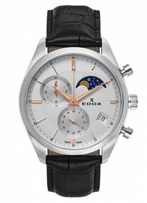 poza Edox Les Vauberts Chronograph Mondphase Date