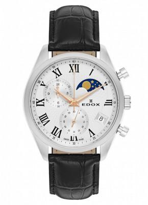 poza Edox Les Vauberts Chronograph Mondphase Date Quarz 01655 3 ARR